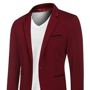 Other - Men's Casual Suit Blazer Jackets Lightweight Sport